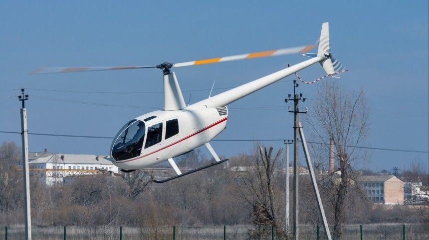 Вертолет Robinson едва не рухнул в Новгородской…