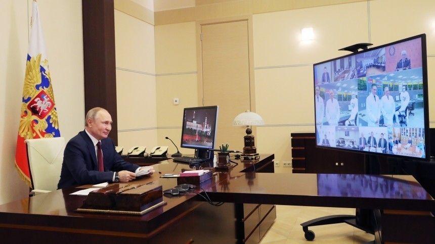 Путин призвал выстроить стратегию по защите РФ в цифровой…