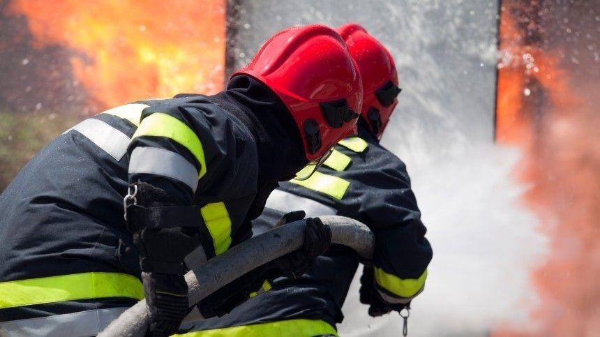 Пожар на рынке Новосибирска спровоцировал транспортный…