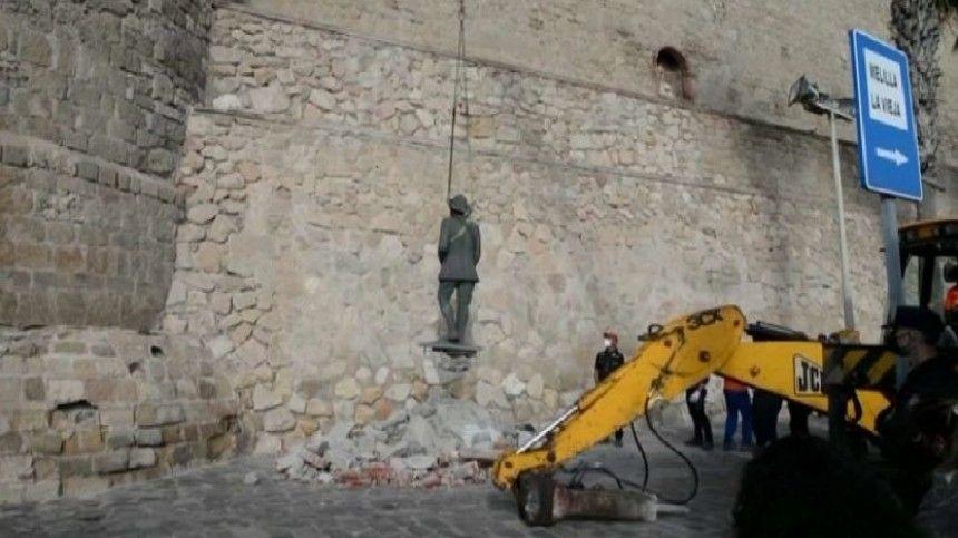 В Испании окончательно уничтожили все символы…