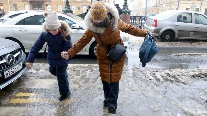 Температурные качели  превратили Петербург в ледовую…