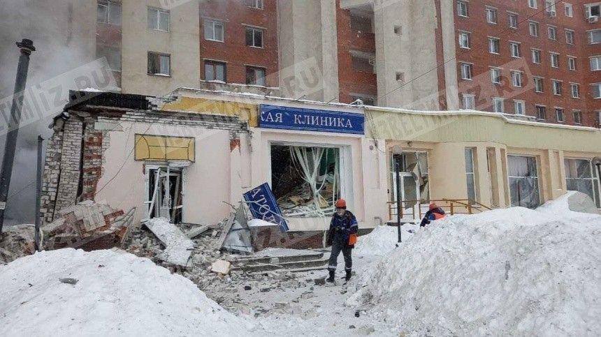 Момент взрыва в жилом доме Нижнего Новгорода попал на…