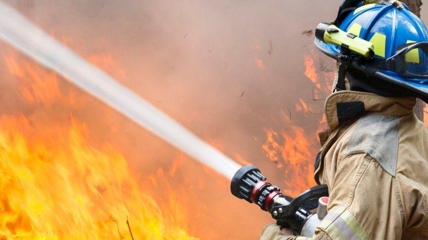 Видео мощного пожара на Юбилейном месторождении в…