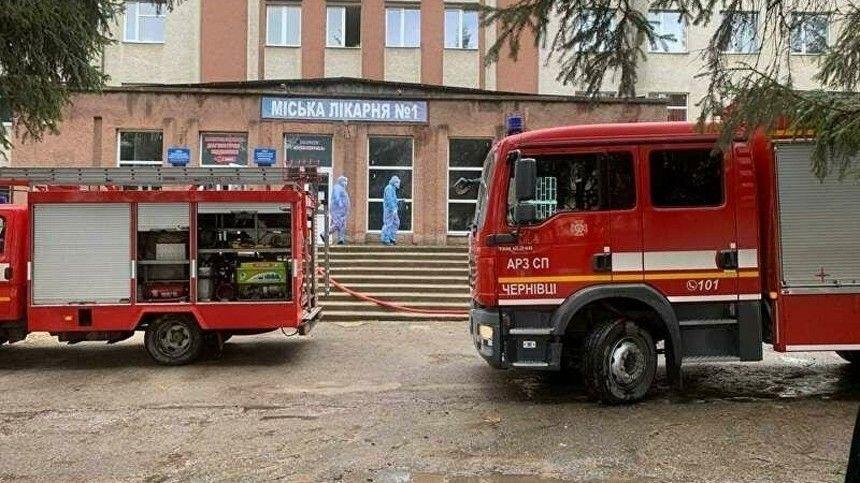 Фото из палаты украинской больницы, где прогремел…