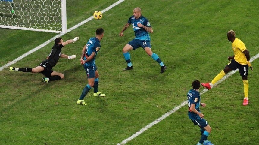 Зенит  не смог переиграть  Ростов  в матче  -го тура…