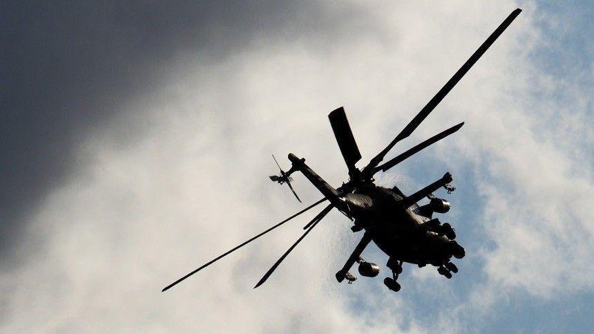 Российский вертолет совершил вынужденную посадку на северо-востоке…