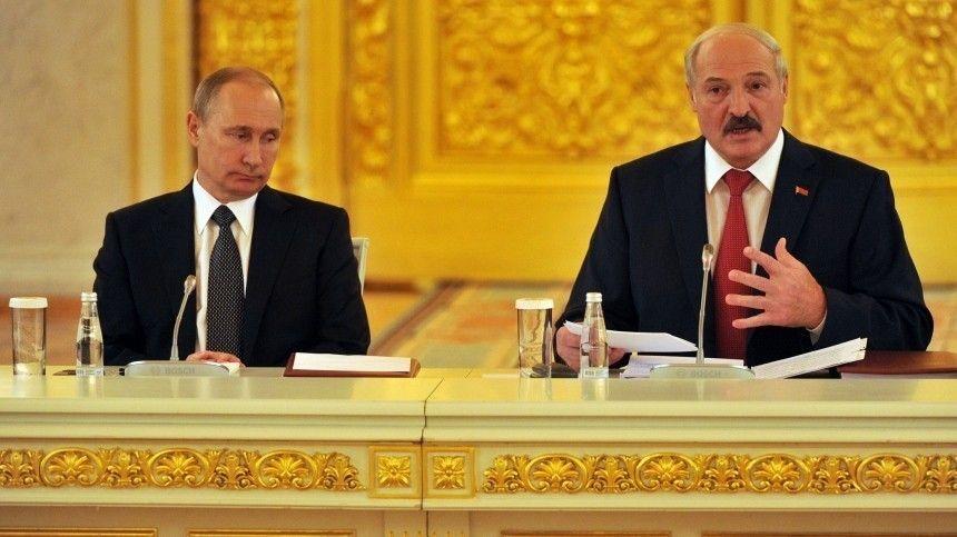 Лукашенко назвал слияние России и Белоруссии  абсолютно ненужным …