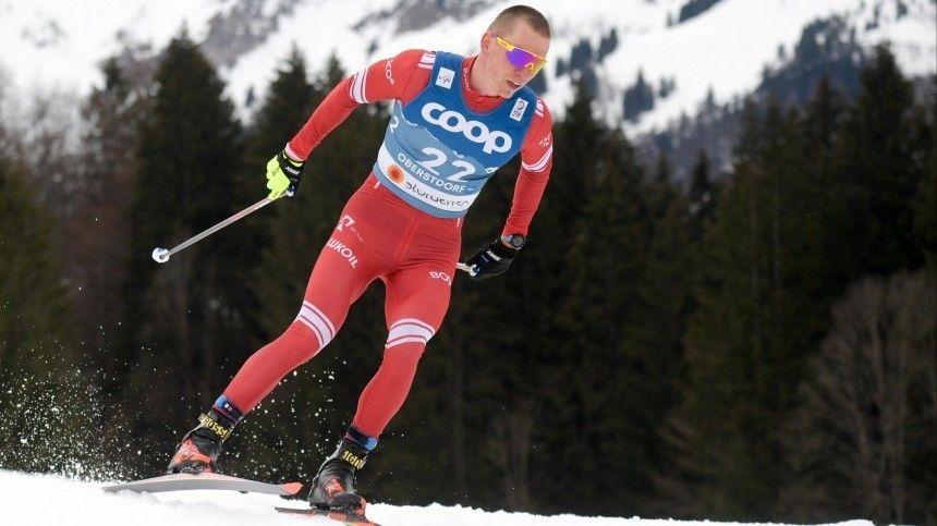 Большунов не вошел в число призеров индивидуальной гонки на ЧМ