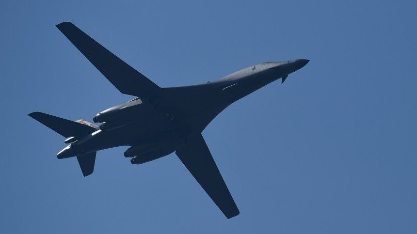 Российский Су-  перехватил над Балтийским морем два бомбардировщика…