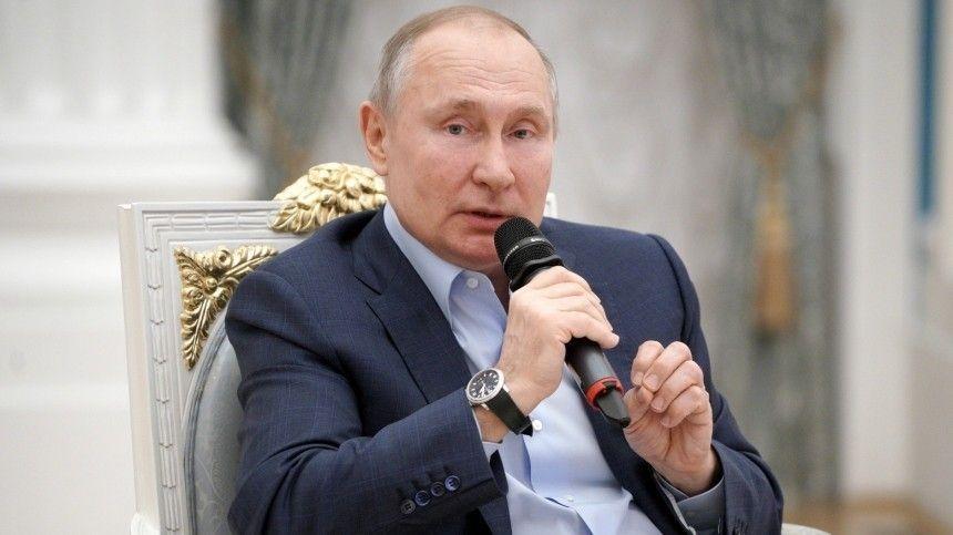 Путин рассказал, как студентом дежурил у постели тяжело заболевшего…