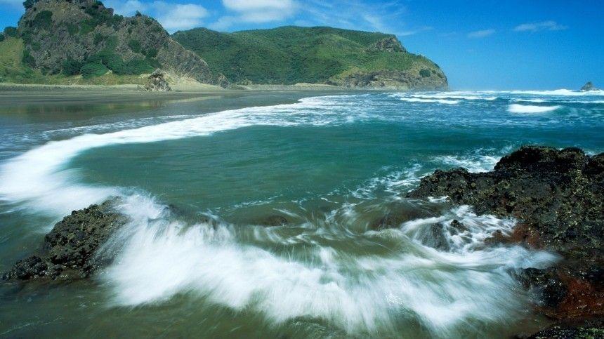 Землетрясение магнитудой  ,  произошло у берегов Новой…