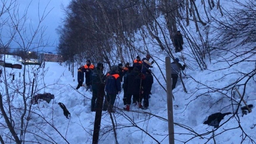 Мужчина погиб при сходе лавины рядом со школой на…