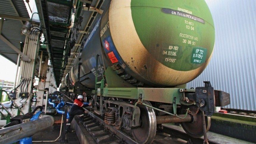 В российские порты начали поставлять нефтепродукты из…