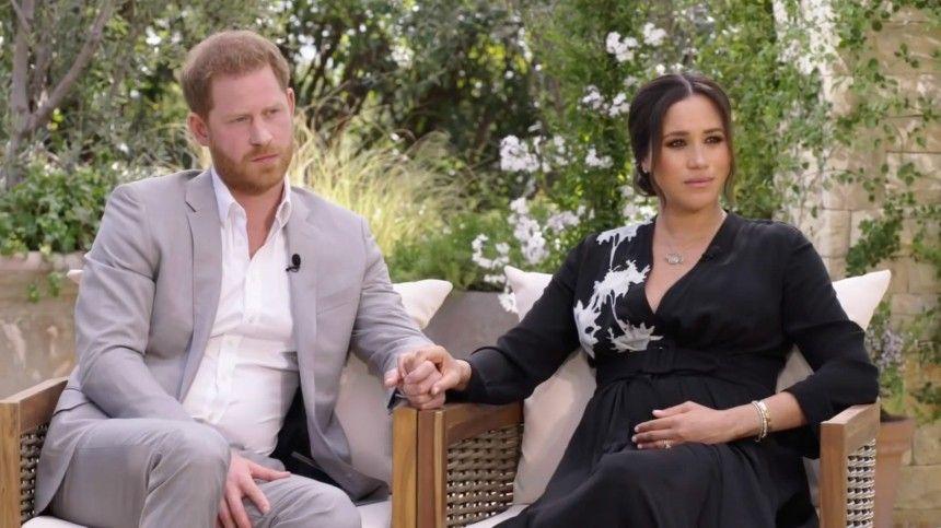 Названа причина отказа Елизаветы II от просмотра интервью принца Гарри и Меган…