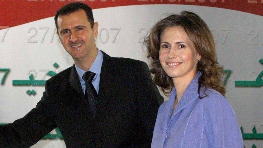Президент Сирии Башар Асад с женой заразились…