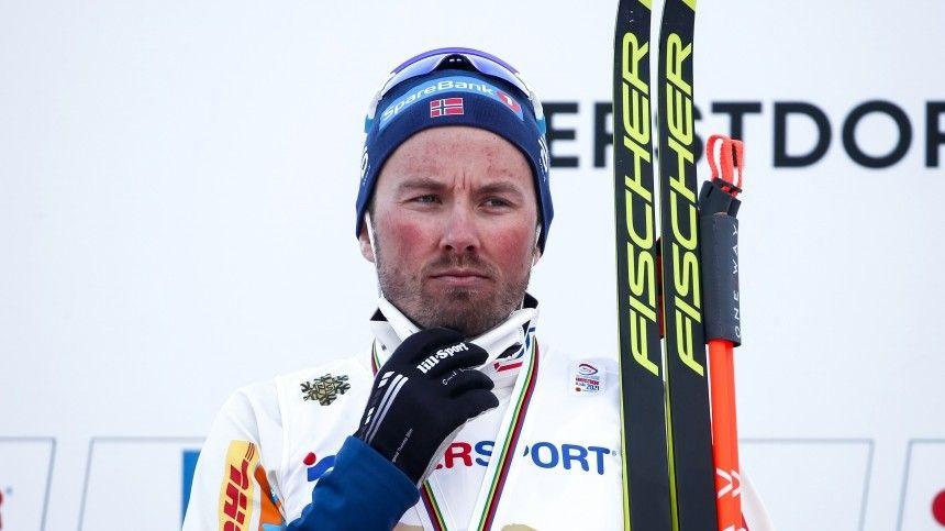 Губерниев предложил  послать в жопу  выигравшего ЧМ норвежского лыжника…