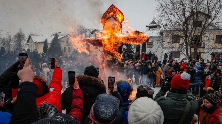 5-tv.ru подводит самые яркие рекорды иитоги целой недели народных гуляний.