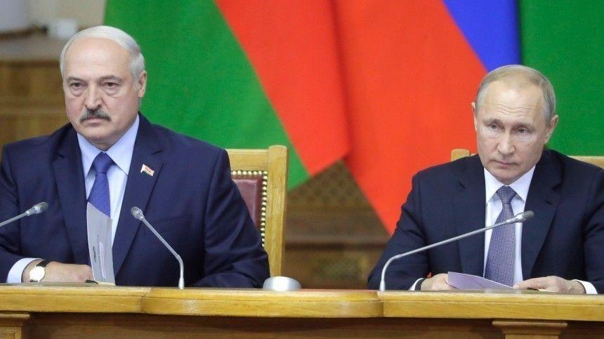 Кремль: Путин иЛукашенко обсудили кандидатуру госсекретаря Союзного государства