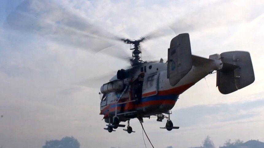 Вертолет МЧС разбился под Калининградом во время учебного полета
