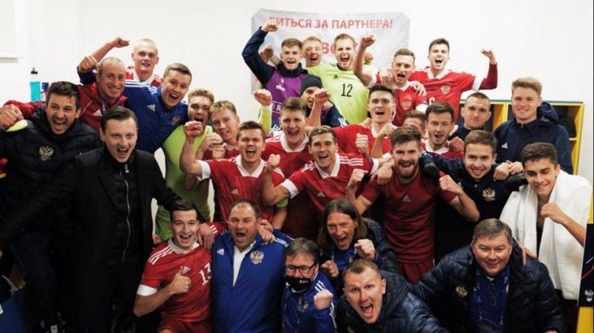 Крупный счет впользу россиян красовался натабло уже после первой половины матча.