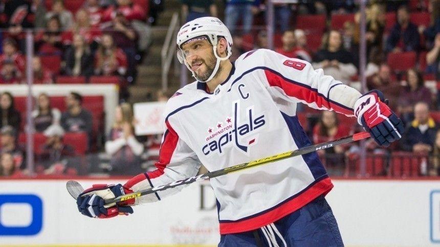 Александр Овечкин забил 725-й гол за карьеру в НХЛ