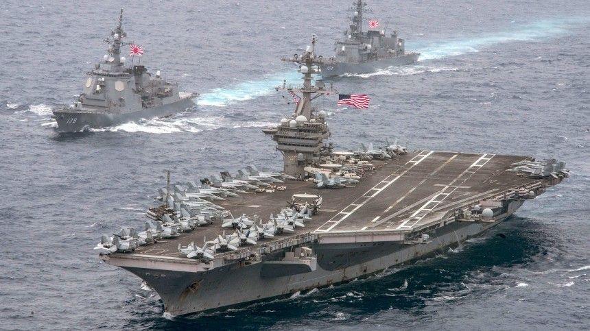 Пентагон отказался комментировать отправку кораблей в Черное море
