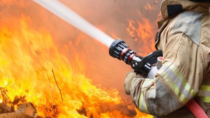 Сотрудникам МЧС удалось оперативно ликвидировать открытое горение наплощади в3,2 тысячи квадратных метров