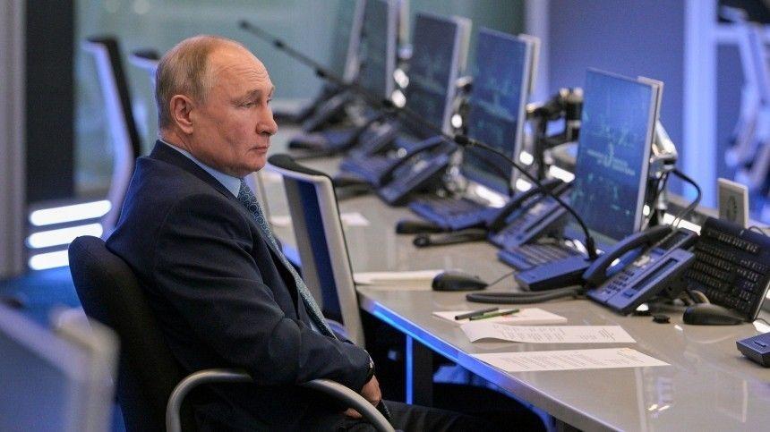Российский президент также оценил работу Координационного центра правительства.
