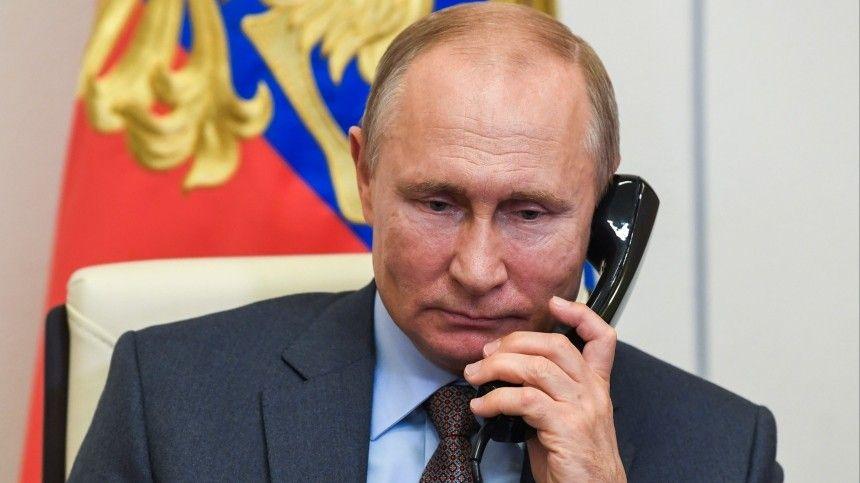 Среди прочего американский лидер предложил проработать вопрос оличной встрече навысшем уровне.