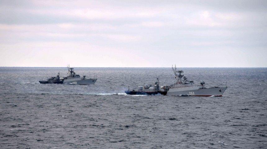 Черноморский флот задействован в масштабной проверке боеготовности войск