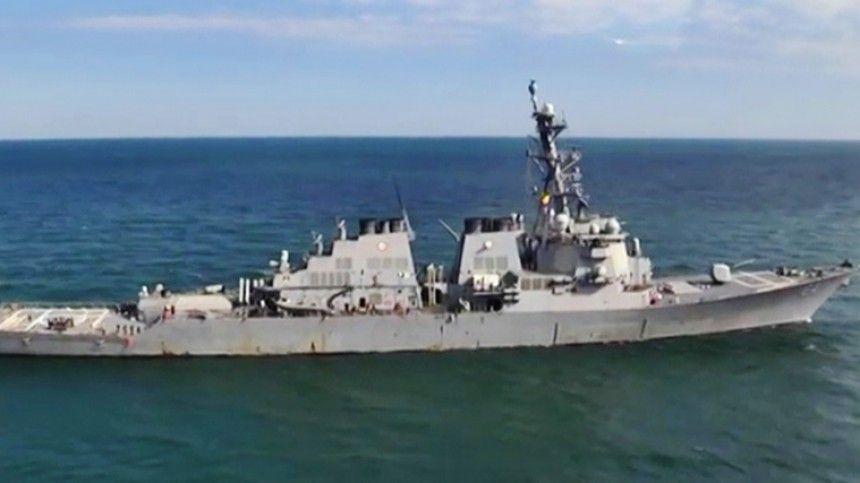 Передумали США отменили проход военных кораблей в Черное море