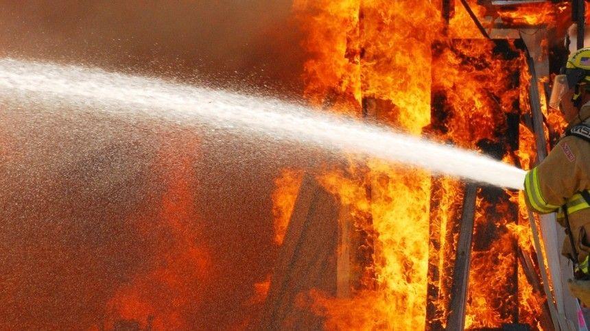 Возгорание вспыхнуло впоселке Лубяной.