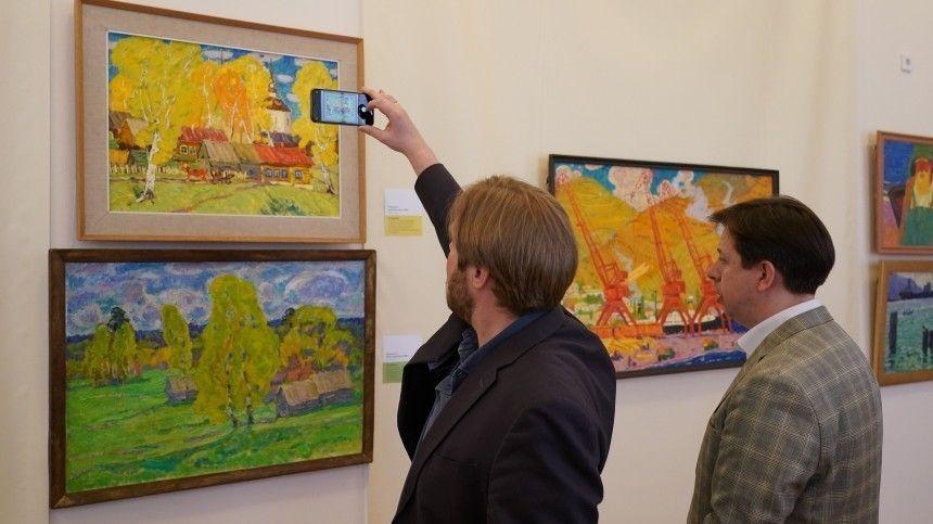 В Москве открылась выставка «Таблица и палитра»