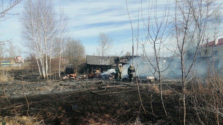 Более 10 домов сгорели под Нижним Новгородом после хлопка газа в Маргуше