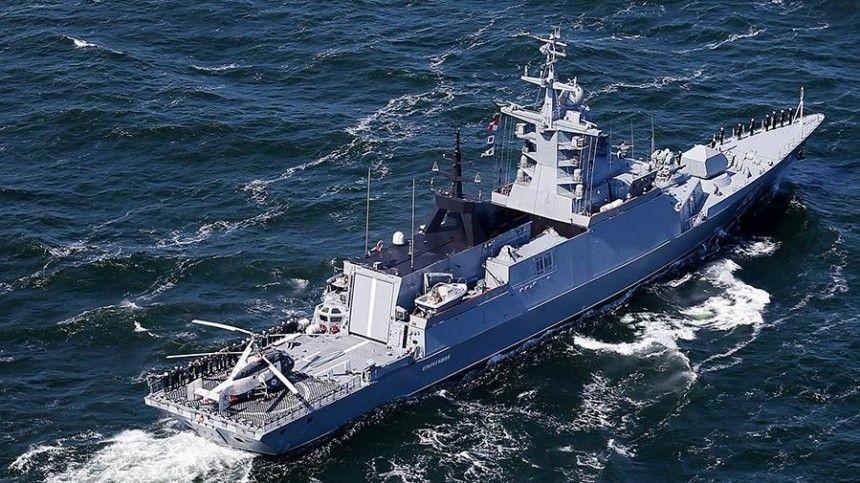 3D-шторма и качка на мостике: как моряки учатся управлять еще строящимся корветом Резкий