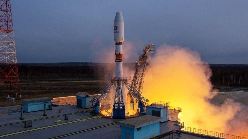 Старт ракеты-носитель «Союз 2.1б» был произведен снового космодрома «Восточный».