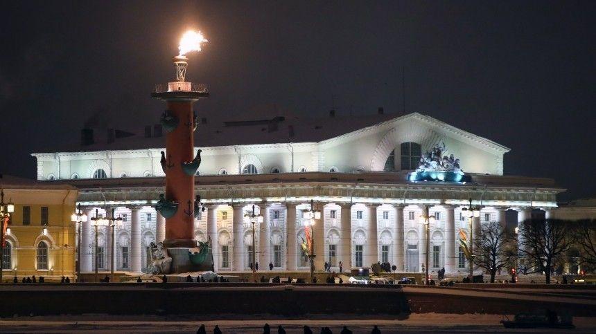 Здание Биржи в центре Петербурге в любой момент может уйти под землю