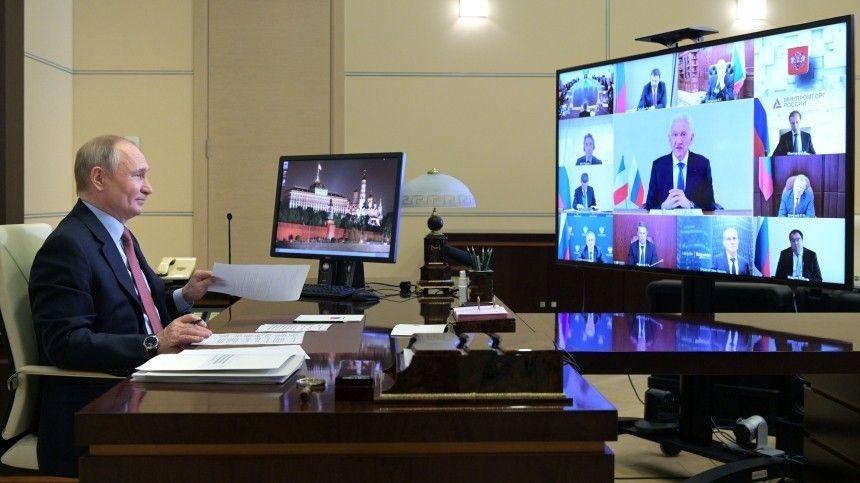 Путин вспомнил булочки из повести Салтыкова-Щедрина, говоря о Северном потоке  2