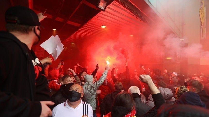 Поклонники футбольного клуба устроили беспорядки перед матчем с«Ливерпулем».