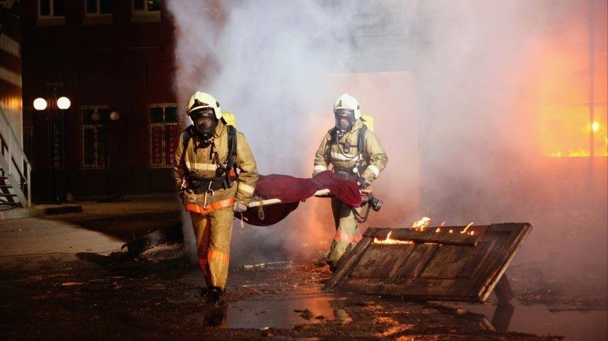 Три человека стали жертвами пожара в московской гостинице