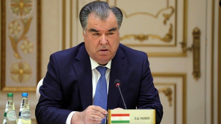 Президент Таджикистана Рахмон посетит Парад Победы в Москве