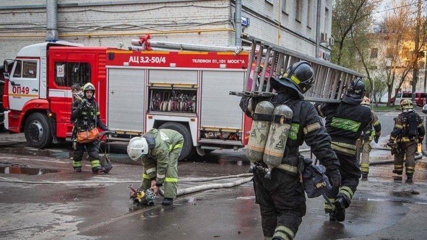 Двух человек задержали по делу о пожаре в московской гостинице Вечный зов