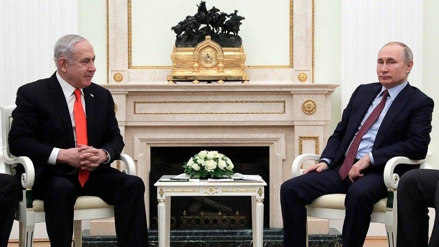 Инициатором беседы двух лидеров стала израильская сторона.
