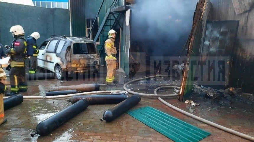 Пять человек погибли при пожаре всварочном цехе вподмосковных Мытищах