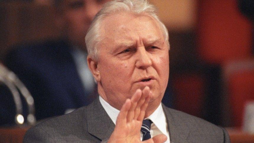 Политик скончался 7мая ввозрасте 100лет.