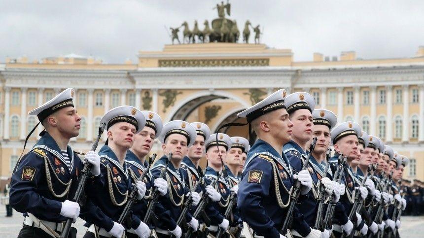 Все праздничные мероприятия вСеверной столице вчесть 76-летия сокончания Великой Отечественной войны можно увидеть, невыходя издома.