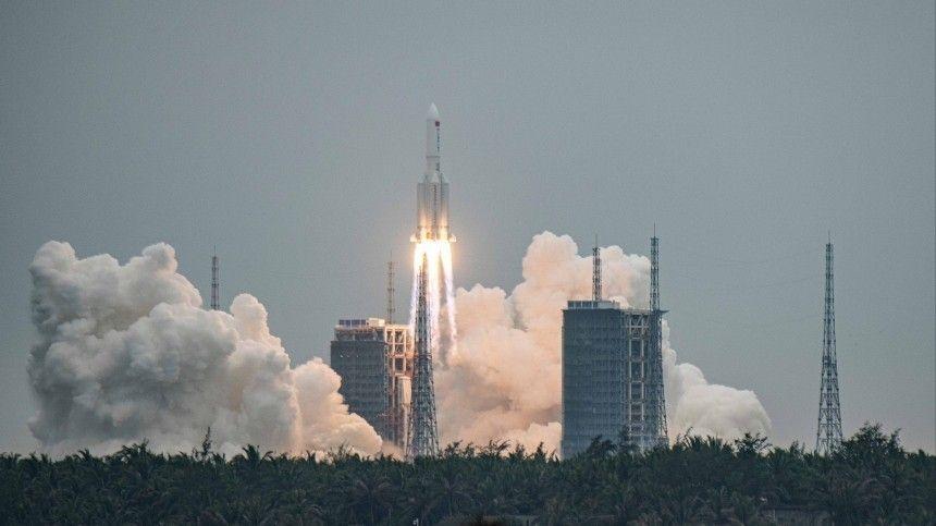 Откуда и куда Неуправляемая ступень китайской ракеты пронеслась над Испанией
