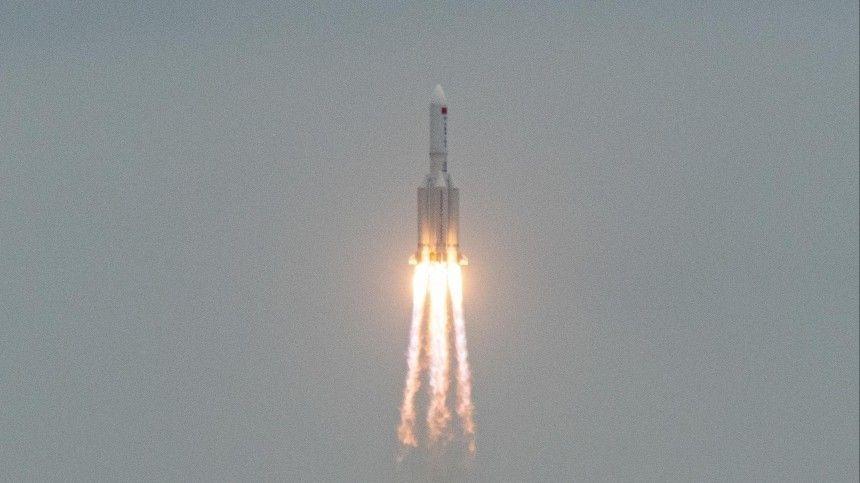 Обломки китайской ракеты упали в Индийский океан