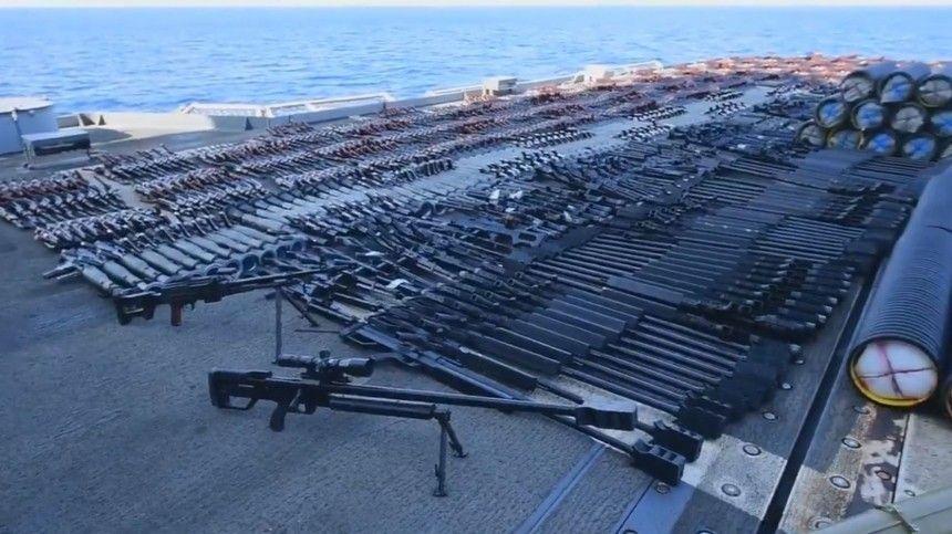 Военным США потребовалось два дня, чтобы полностью изъять огромный арсенал.