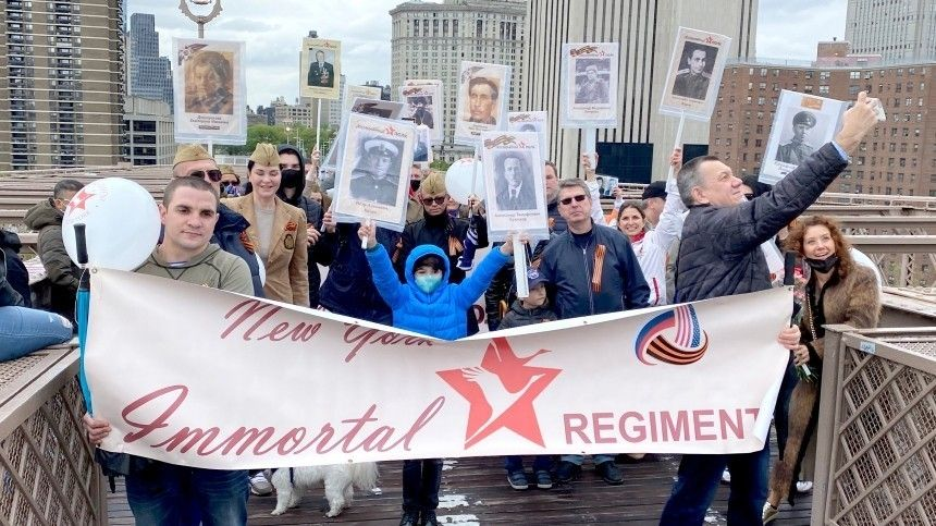 Праздничными концертами ишествиями русскоязычные жители разных государств отметили 76-ю годовщину Победы вВеликой Отечественной войне.
